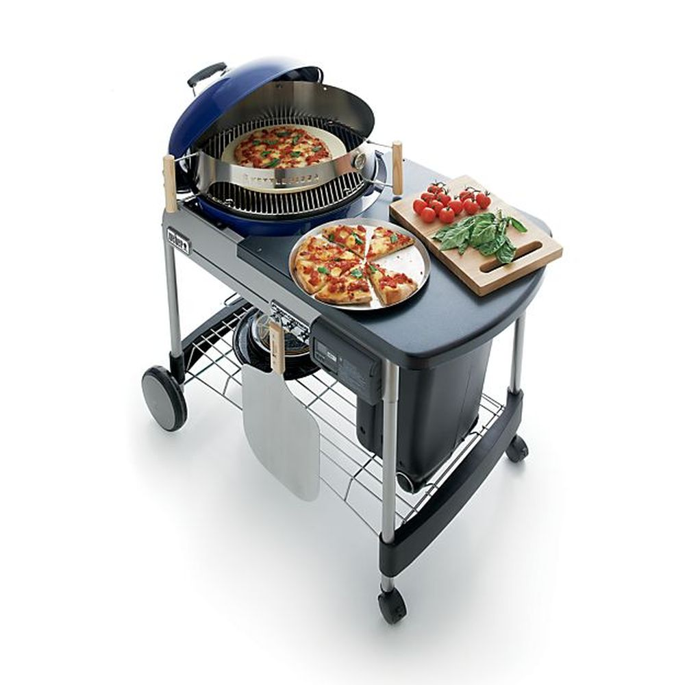 Weber® Blue Performer Deluxe Charcoal Grill
